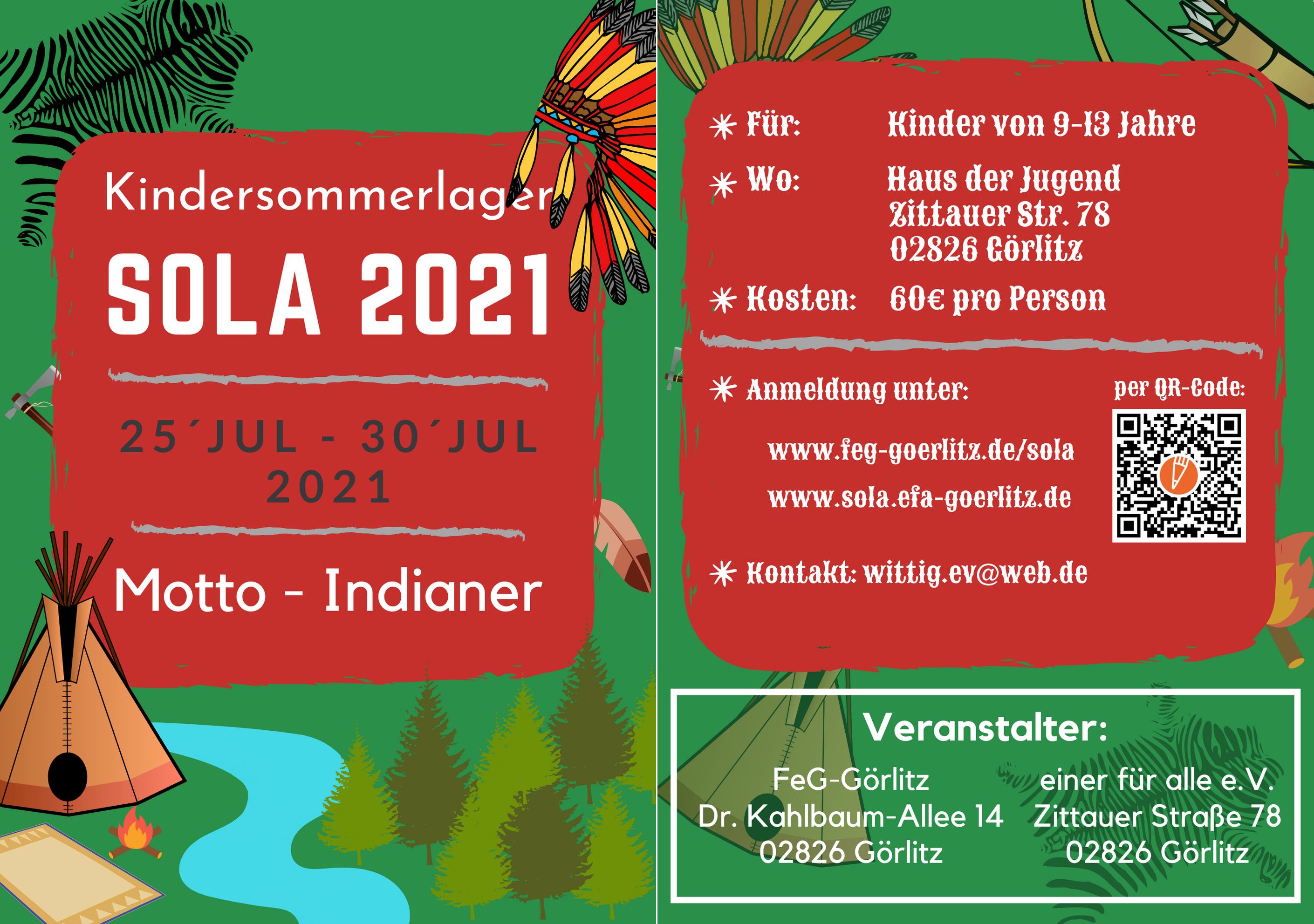 Sola 2021 - Flyer